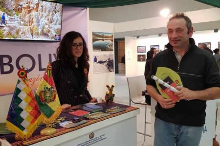 Bolivia participa en importantes ferias de turismo en Italia