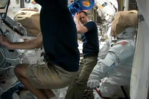 La inactividad afecta a los astronautas más que la falta de oxígeno