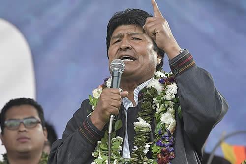 Morales dice que Mesa siempre fue seguidor de Sánchez de Lozada y de las ideas neoliberales