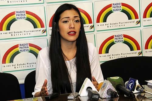 Senadora Salvatierra: sobornos y coimas en el caso Lava Jato-Odebrecht se dieron en la gestión de Mesa