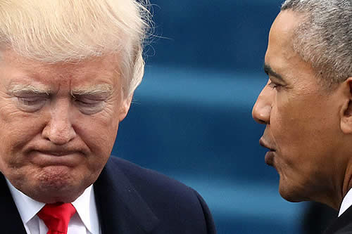 "Trump revela qué amenaza le describió Obama como el ""mayor problema"" para EE.UU."