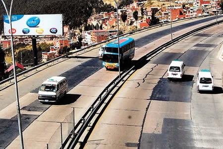 Morales anuncia ampliación de Autopista La Paz-El Alto con $us 34 millones