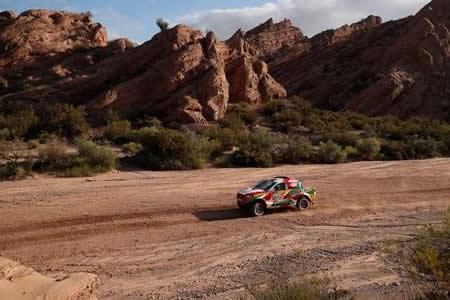 Bulacia se retrasa en la etapa y en la clasificación general del Dakar 2018