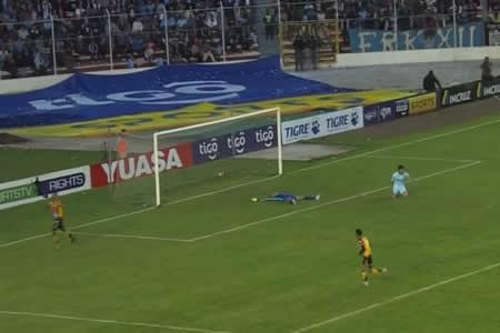 The Strongest rompe la racha de victorias del bicampeón Bolívar