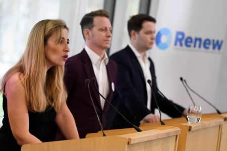 """""""Renew"""", el partido """"antibrexit"""" que desea devolver el optimismo a Reino Unido"""