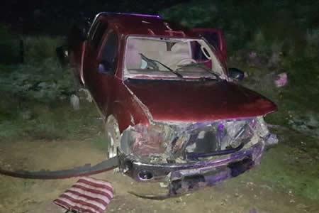 Accidente de tránsito deja un muerto y 4 heridos en Uncía