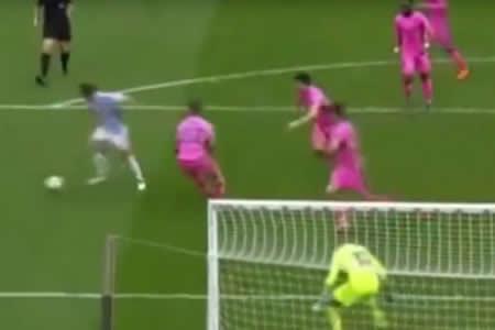 ¿Este es el mejor gol de LaLiga en el 2018?