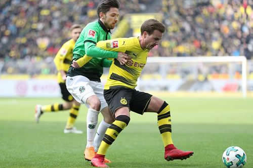El Dortmund se consolida tercero en la Bundesliga gracias a Batshuayi