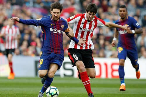 El Barça sentencia al Athletic en un gran primera parte