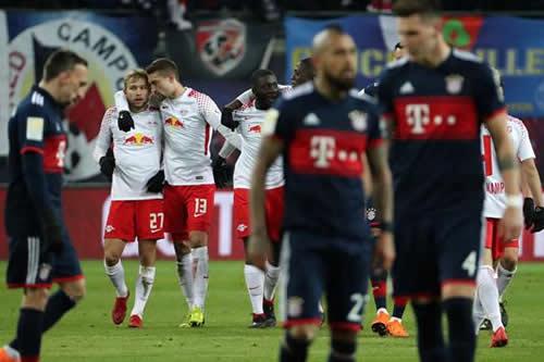 El Leipzig sorprende al Bayern que encaja la segunda derrota bajo Heynckes