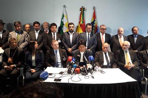 """Morales expresa respeto y confianza en el más alto tribunal para un """"fallo justo y certero"""""""
