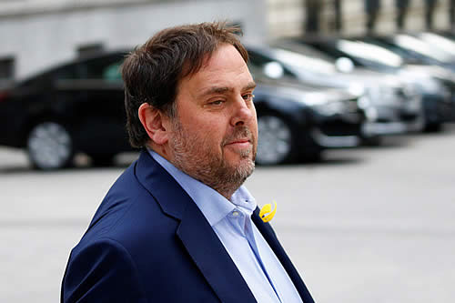 """El exvicepresidente catalán desde la cárcel: """"Tenemos la obligación de evitar gobiernos de extrema derecha"""""""