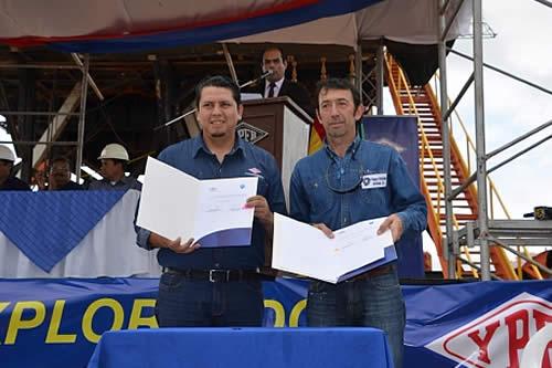 YPFB y Vintage firman tres contratos para negociar exploración y explotación en Tarija