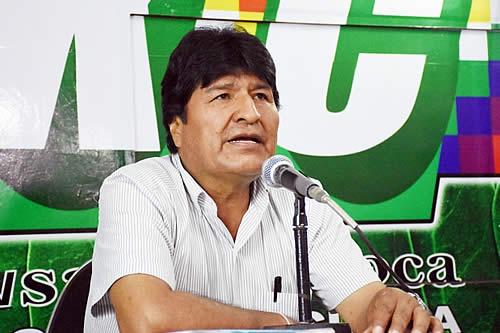 """Morales califica de """"éxito"""" la concentración en Chimoré y dice que genera """"compromiso"""" con el pueblo"""