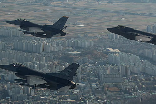 EE.UU. se opone a la zona de exclusión aérea acordada por las dos Coreas en la frontera