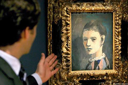 El hallazgo de copia del Picasso es parte de obra teatral