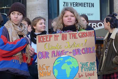 Auge verde en Alemania: jóvenes por el futuro del planeta