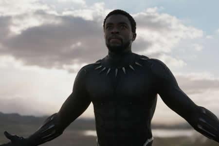 """""""Black Panther"""" registra el segundo mejor estreno de la historia en 4 días"""