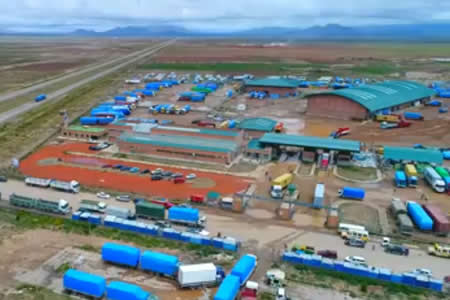 Inauguran Aduana Especializada para agilizar importación de mercadería en Oruro