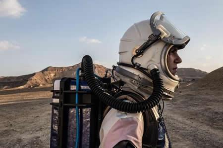 El desierto del Néguev se convierte en Marte por unos días