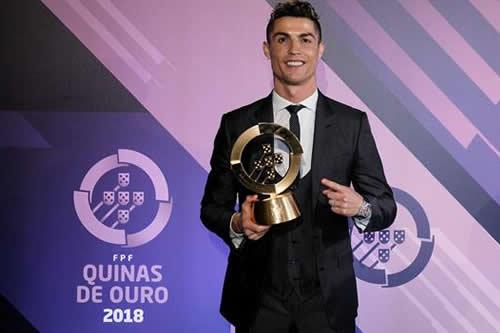 Cristiano Ronaldo, nombrado mejor jugador portugués un año más