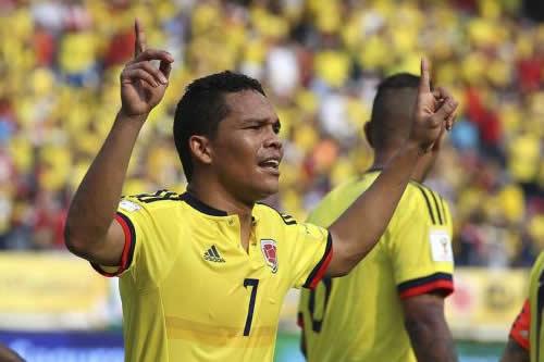 """Carlos Bacca: """"Trabajo día a día para poder estar con Colombia en el Mundial"""""""