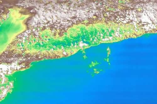 La primera minicámara hiperespectral se estrena con la costa de Cuba