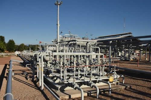 Campo Caigua inicia producción en 40 millones de pies cubicos día de gas