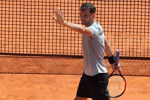 Dimitrov primer semifinalista tras derrotar a Goffin