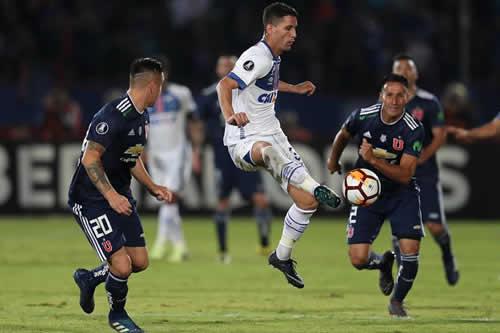 El Cruzeiro le roba un punto a la U de Chile en un duelo vibrante