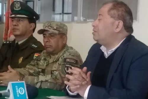 Gobierno asegura que asesinato de dos militares en Oruro a manos de contrabandistas fue esclarecido