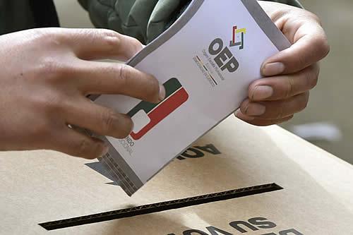Elecciones: Prohíben usar símbolos patrios e imágenes de niños en propaganda que irá hasta el 16 de octubre