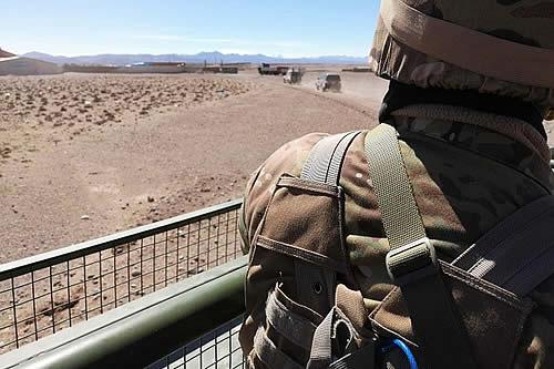 Enfrentamiento entre patrulleros y contrabandistas deja dos heridos de bala en Oruro