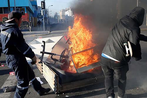 Se eleva a 10 el número de muertos durante protestas en Chile