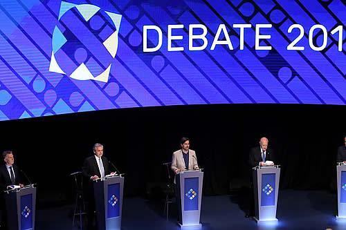 Las principales definiciones de los candidatos a presidente de Argentina en el último debate antes de las elecciones