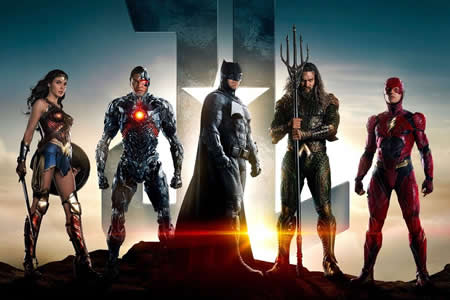 """""""Justice League"""" domina la taquilla de EE.UU. pero su recaudación decepciona"""