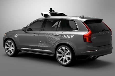 Volvo venderá a Uber miles de vehículos capaces de conducción autónoma