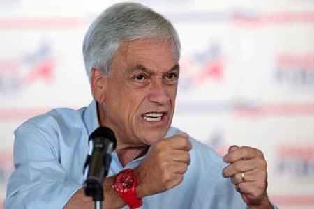 """Piñera apela al electorado del """"centro social"""" para ganar la segunda vuelta"""