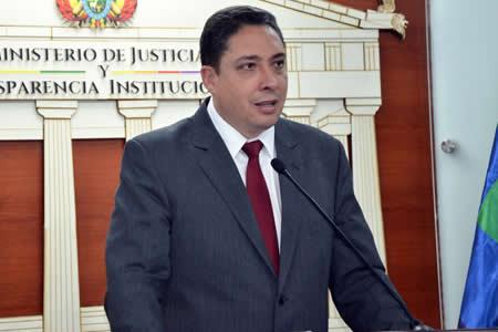 Arce desconoce informe que sitúa a Bolivia entre los 10 países con la peor administración de justicia