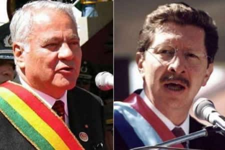 Juicio a Sánchez de Lozada y Sánchez Berzaín por hechos de 2003 se iniciará el 5 de marzo en EEUU
