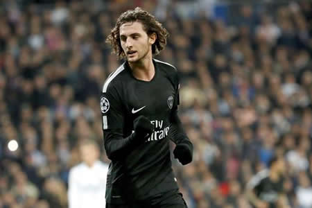 UEFA rechaza recurso del PSG contra la amonestación a Rabiot ante Real Madrid