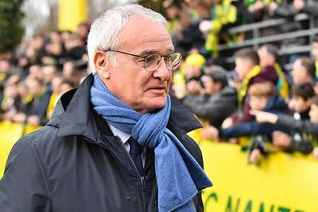 Ranieri afirma que si le llamaran para entrenar a Italia dejaría el Nantes