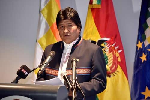 Evo Morales: La oligarquía chilena no quiere ofrecer salida al mar a Bolivia