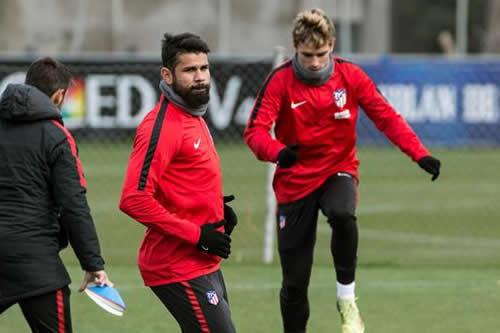 "Diego Costa: ""Le he dicho a Griezmann que no se vaya"""