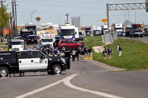 """Muere el presunto """"atacante en serie"""" que atemorizó a Texas con explosivos"""