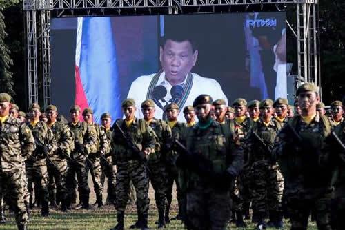 Duterte descarta enviar tropas filipinas para ayudar a EEUU en sus guerras