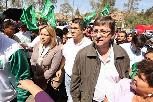 Legisladores de Unidad Demócrata están en Cochabamba para respaldar a Leyes