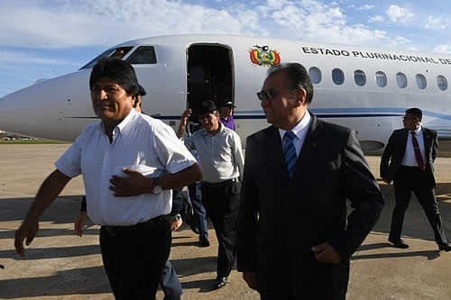 Morales parte a Argentina para cumplir apretada agenda