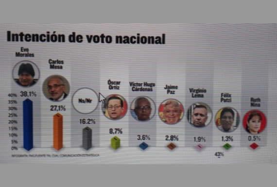 """Encuestas reflejan la """"fortaleza"""" del MAS a cinco meses de comicios"""