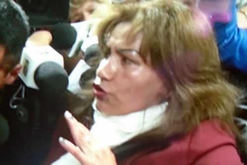 Reaparece la jueza Pacajes, afirma que no es delincuente y se defenderá